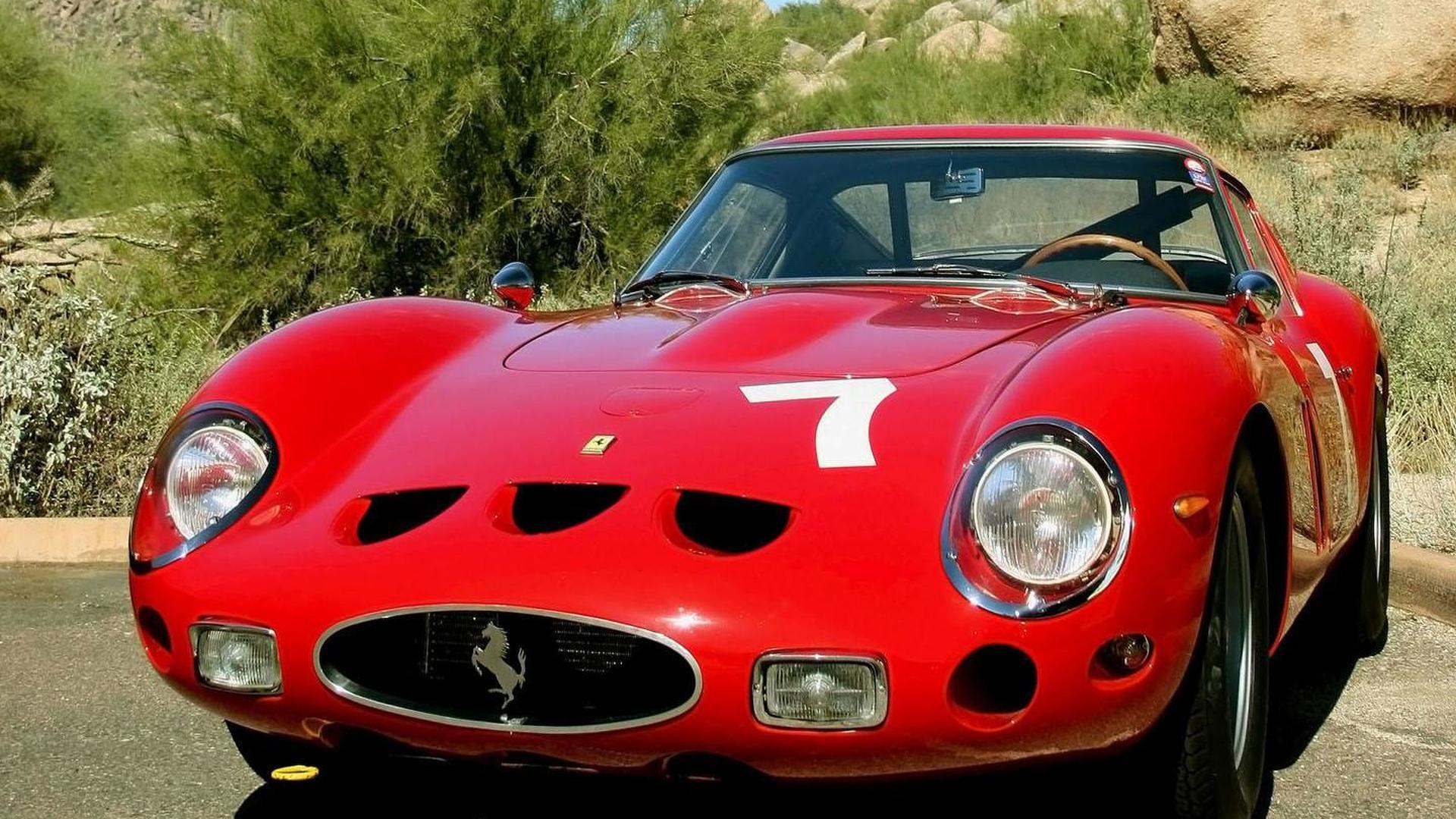"""[""""1962–63 Ferrari 250 GTO Series I""""]"""
