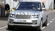 2014 Range Rover long wheelbase spy photo 25.07.2013