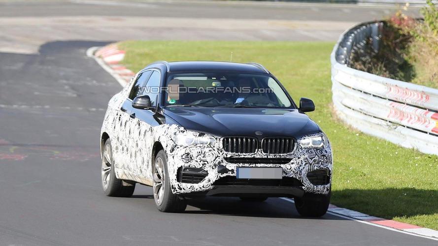 2015 BMW X6 returns in fresh spy photos