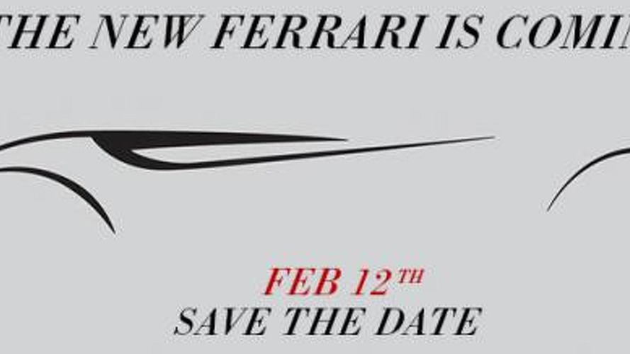 Ferrari teases California-based model once again