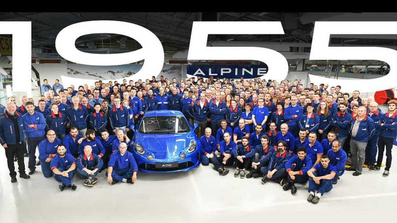 Alpine A110 Premiere Edition production