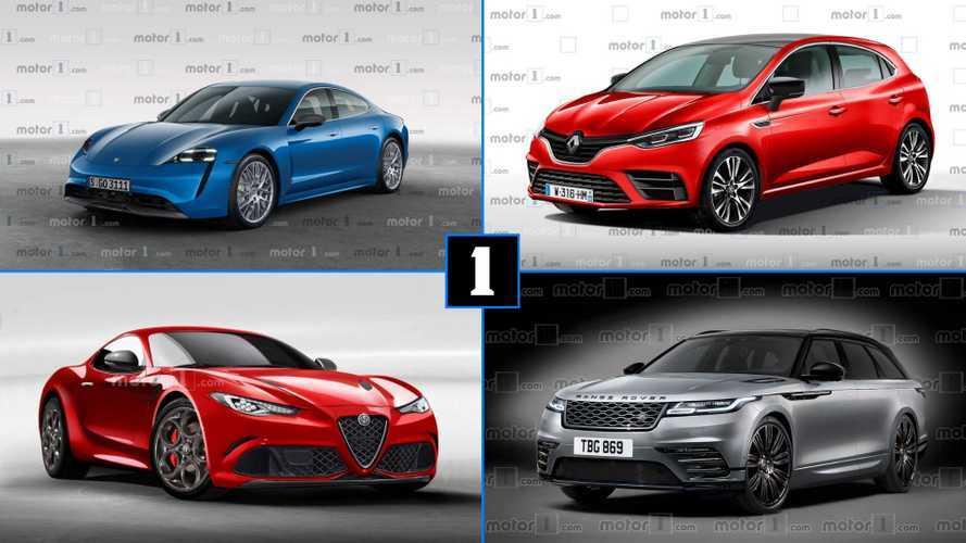 Autos der Zukunft: Die besten Renderings