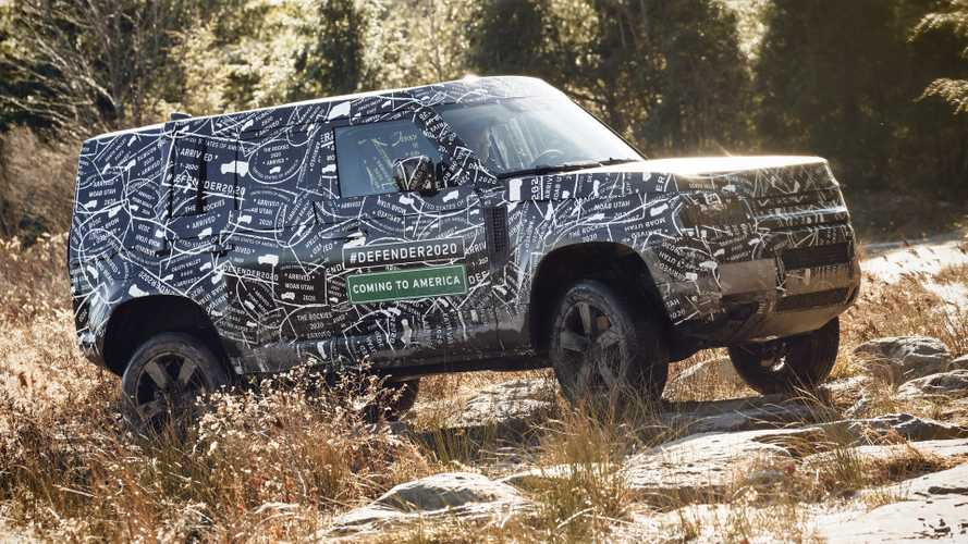 New Land Rover Defender Officially Confirmed For U.S. Debut