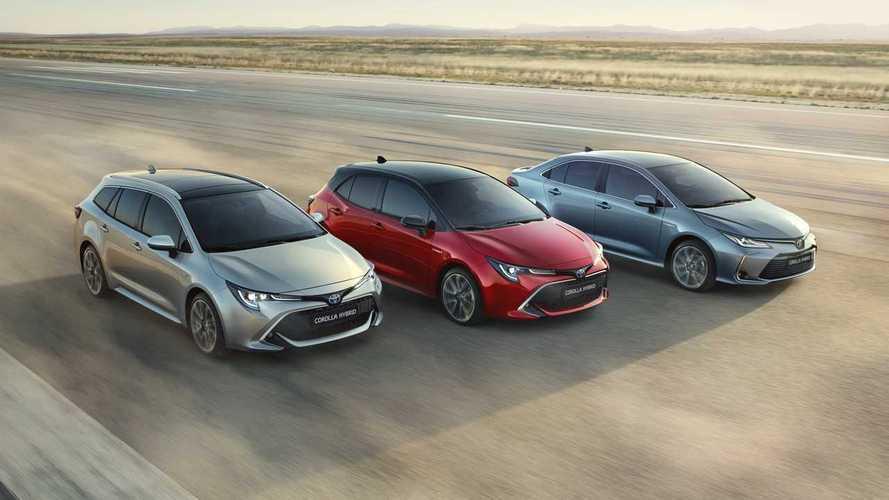 Precios del Toyota Corolla 2019: cinco puertas, Touring Sports y Sedan