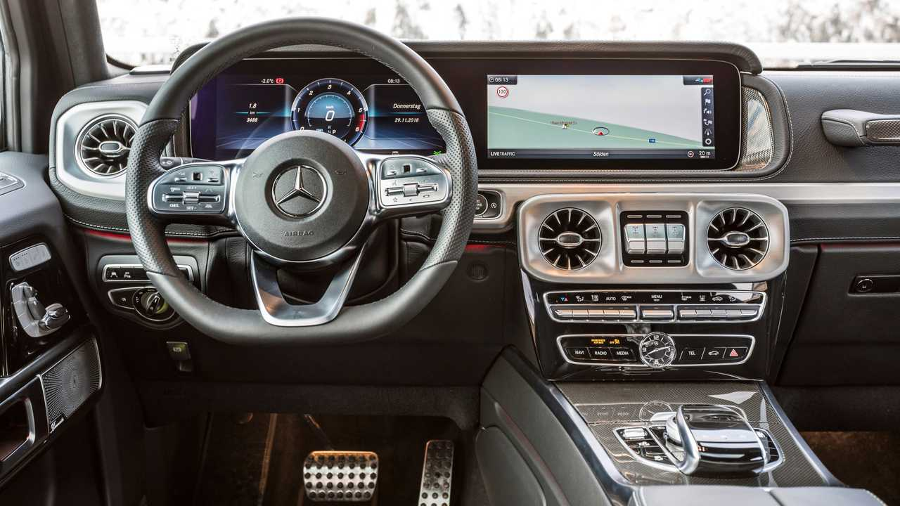 Image result for SUV G350-D interior view