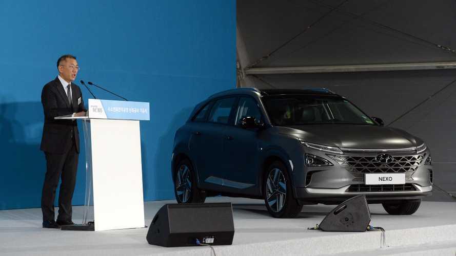 Hyundai, a gonfie vele verso lo sviluppo dell'idrogeno