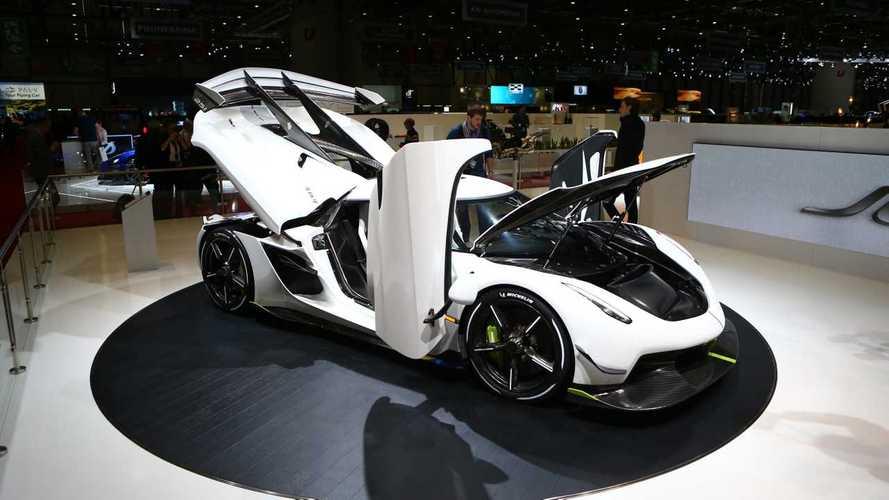 L'erede dell'auto più veloce del mondo è al Salone Ginevra