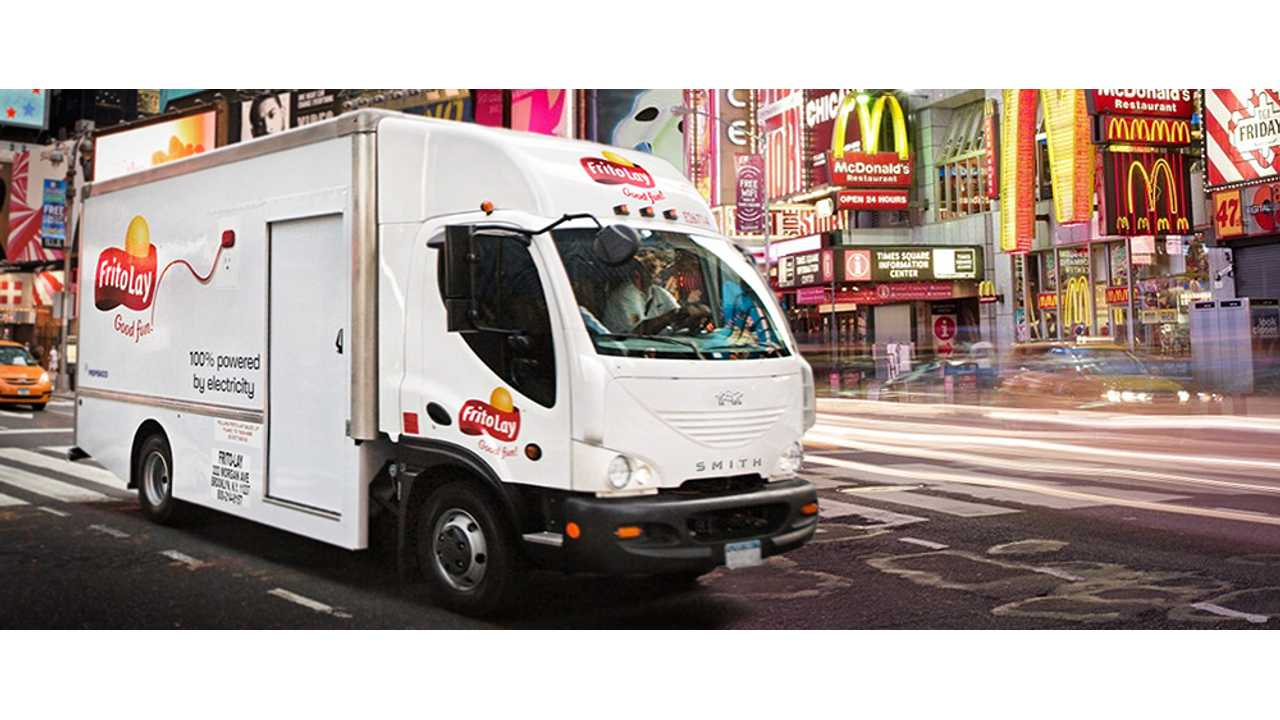 NREL Evaluating Performance of Frito Lay Electric Trucks