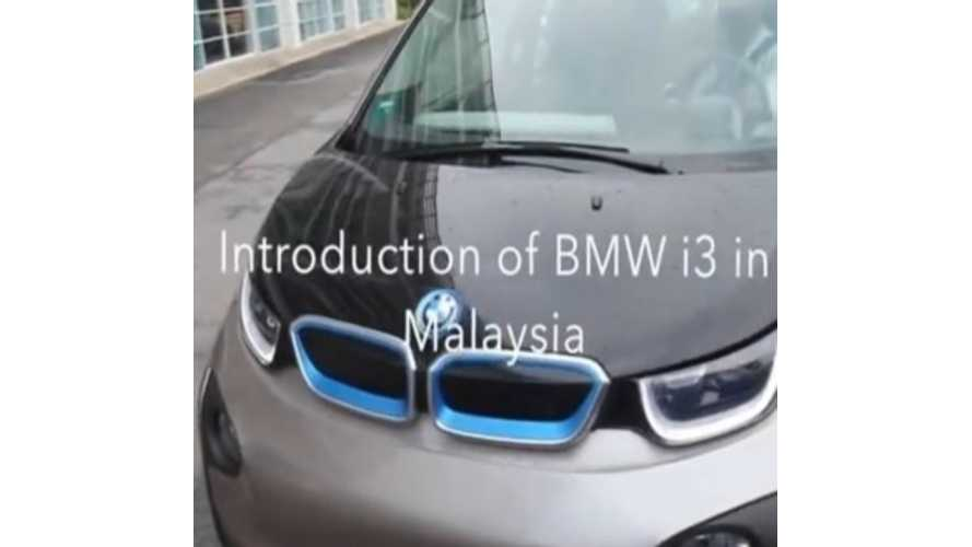BMW i3 Test Drives Offered In Malaysia - Video