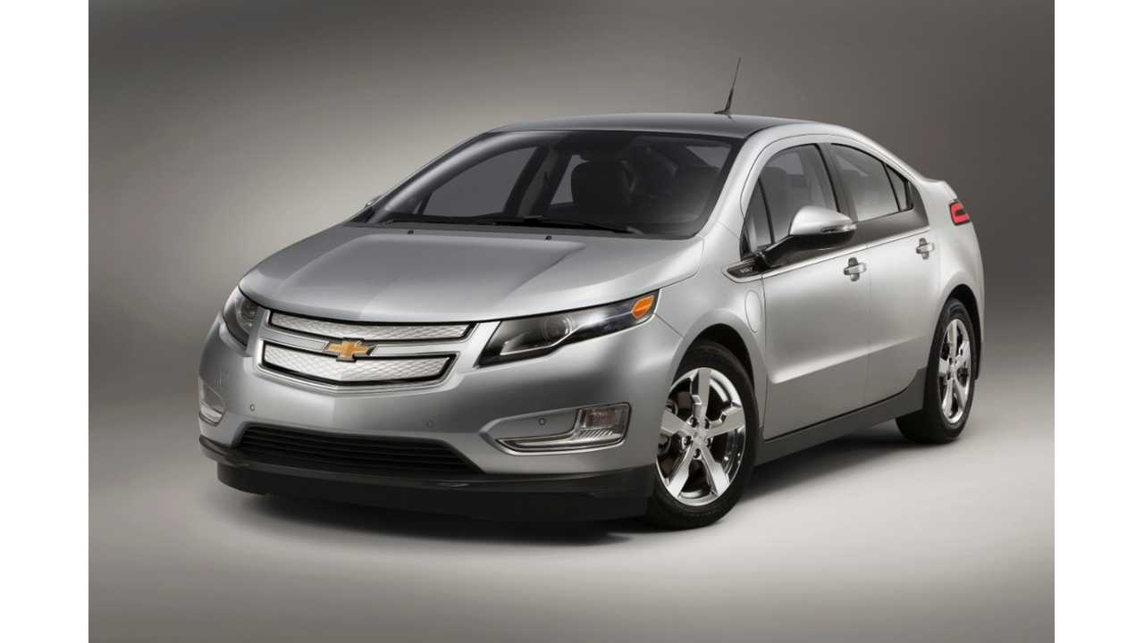 Plug In Electric Vehicle Sales Canada April 2014 - Chevy Volt Dominates With Record-Setting Sales