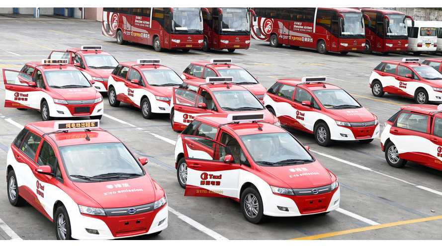 BYD Electric Vehicle Transducers Log 130,000,000 Miles And Counting