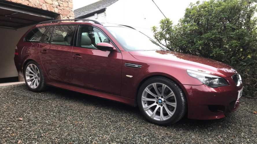 This 2005 BMW M5 Touring Has A V10 Heart