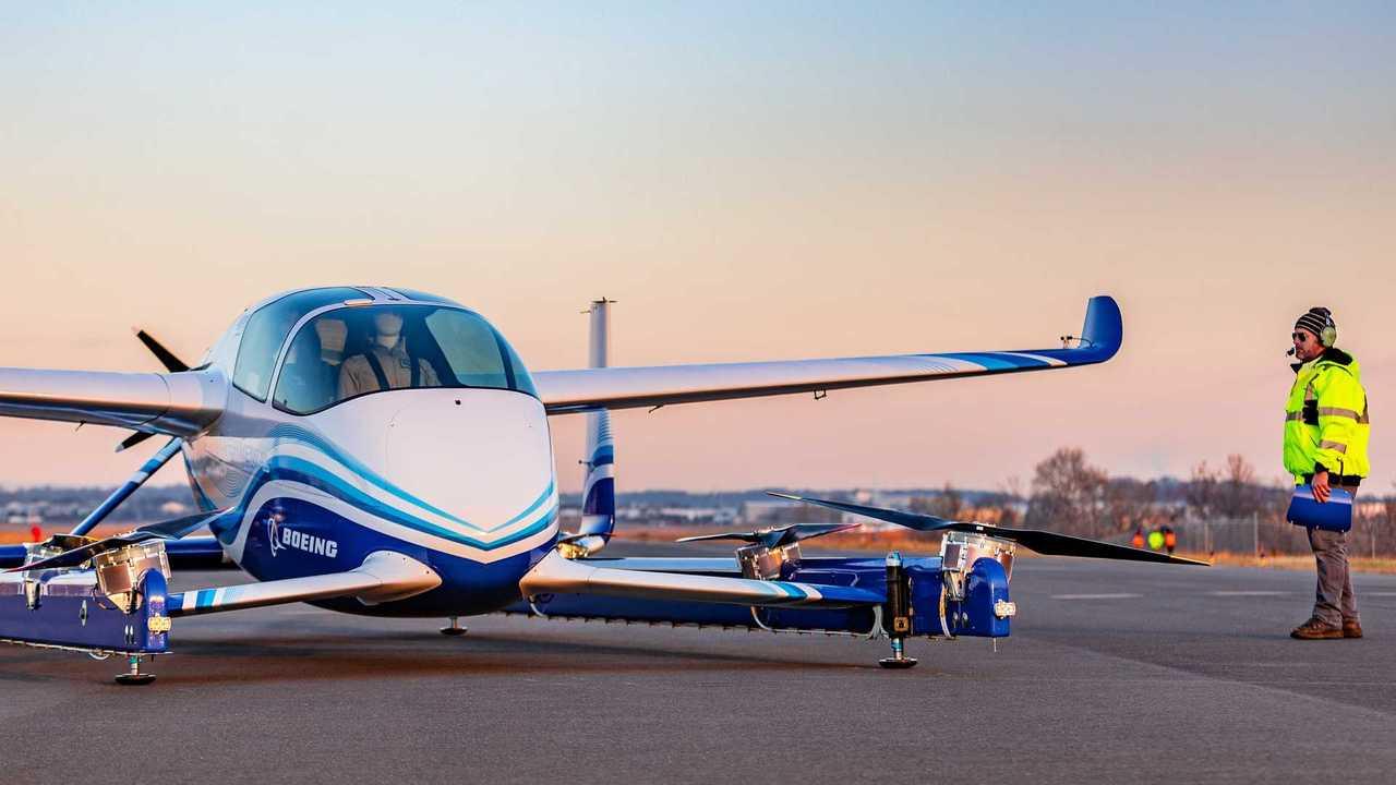 Boeing: Erstflug eines neuen autonomen Passenger Air Vehicle (PAV)