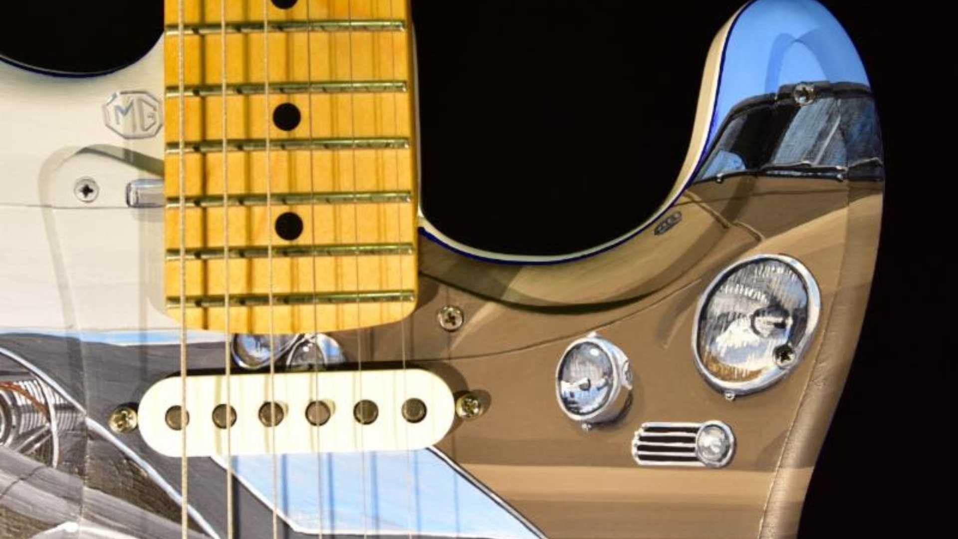 "[""John Oates Charity Guitar to be Sold at Cars of the Rock Stars""]"