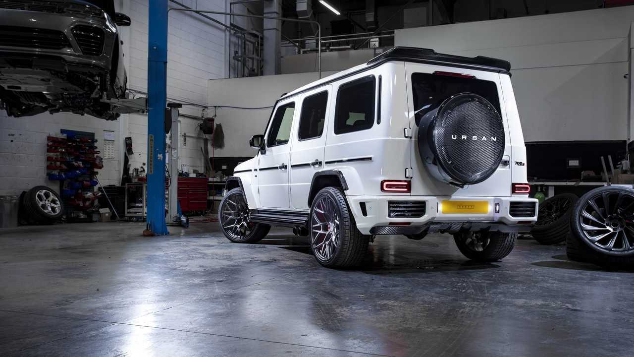2019 Mercedes-AMG G63 widebody by Urban Automotive