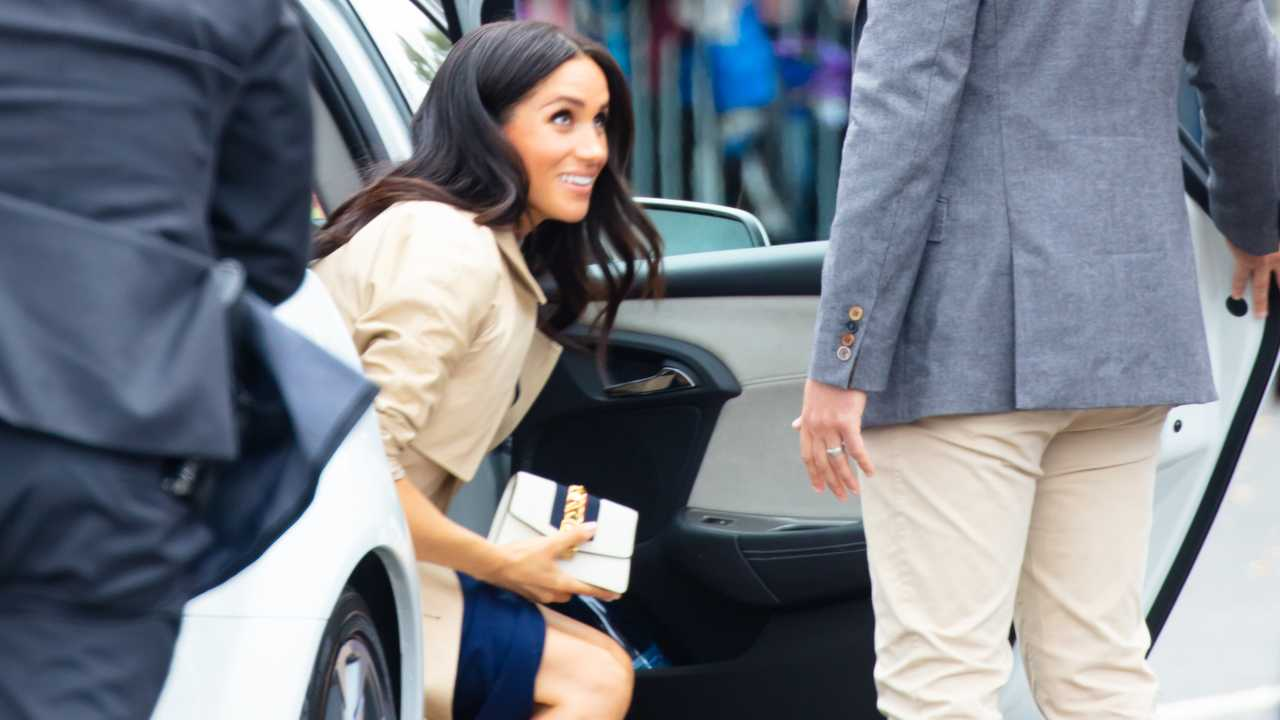 Meghan Markle meet fans at Government House in Melbourne Australia