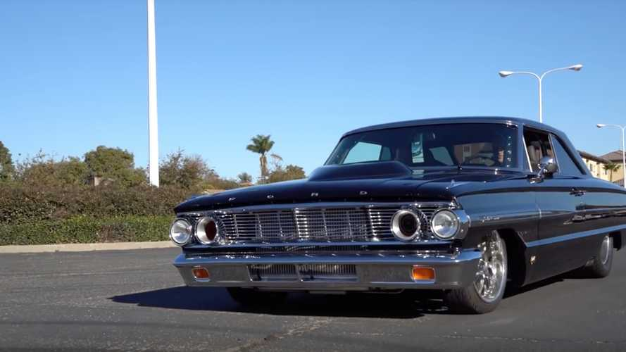 You Won't Believe How Much Power This Slammed Galaxie Makes