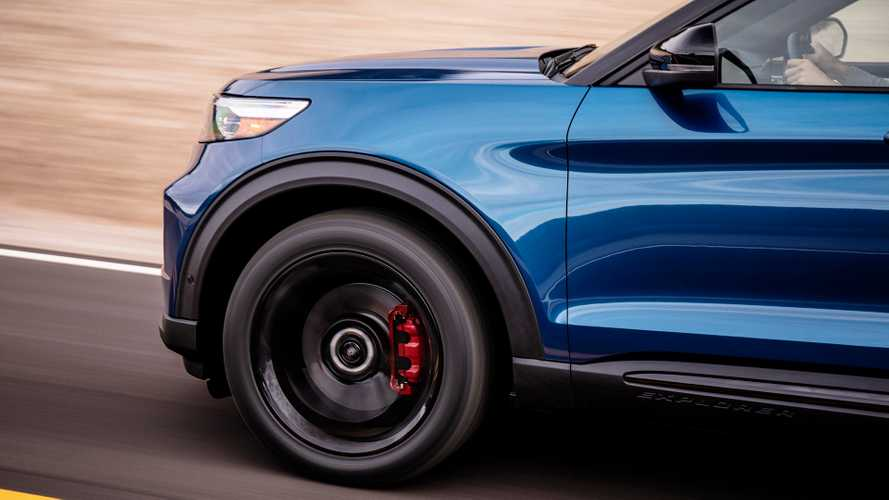 Ford Explorer ST has Michelin tyres developed for Mercedes