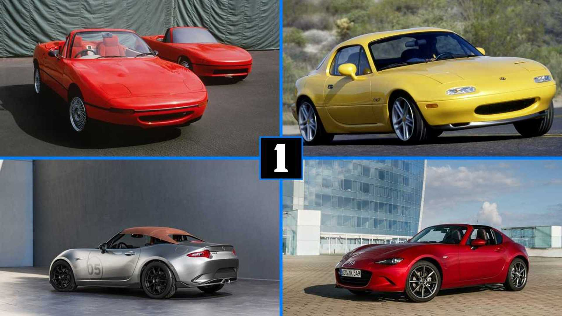 30 Years Of The Mazda Mx 5 In Pictures