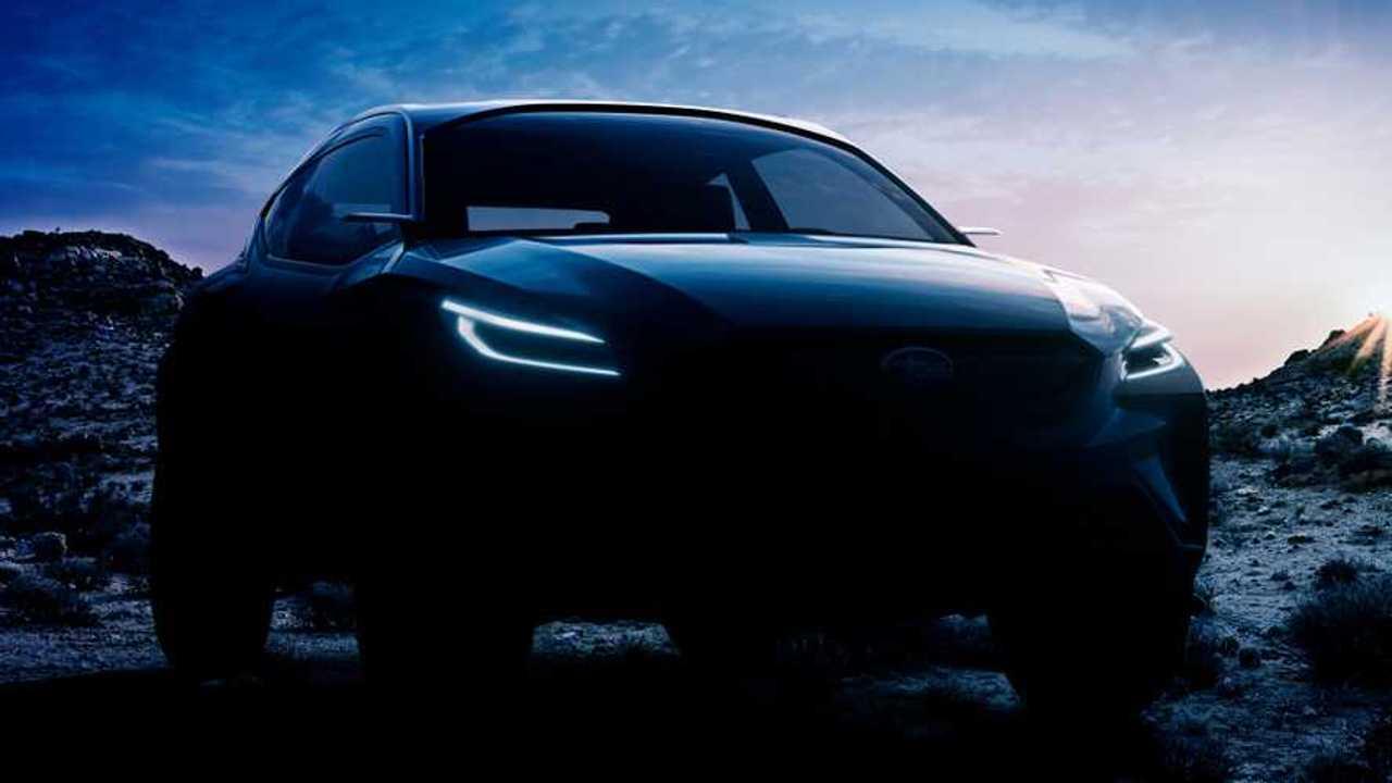 Subaru Vision Adrenaline Concept teaser