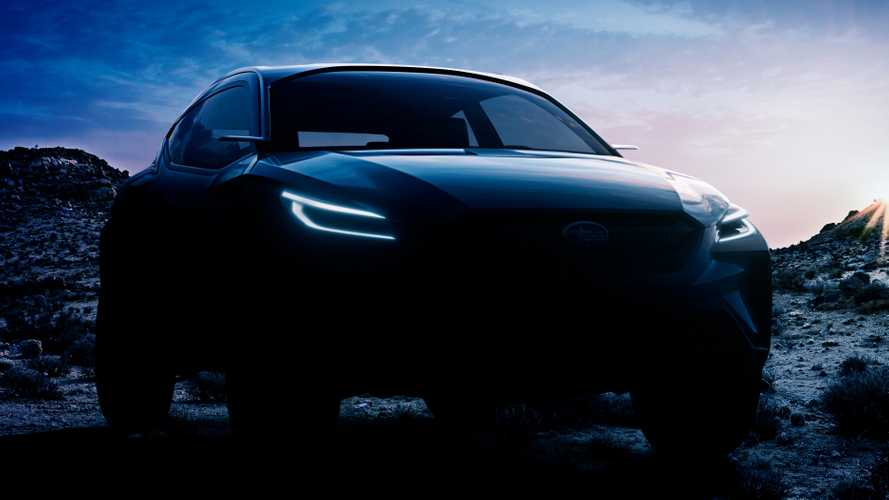 Subaru Viziv Adrenaline Concept teased ahead of Geneva reveal