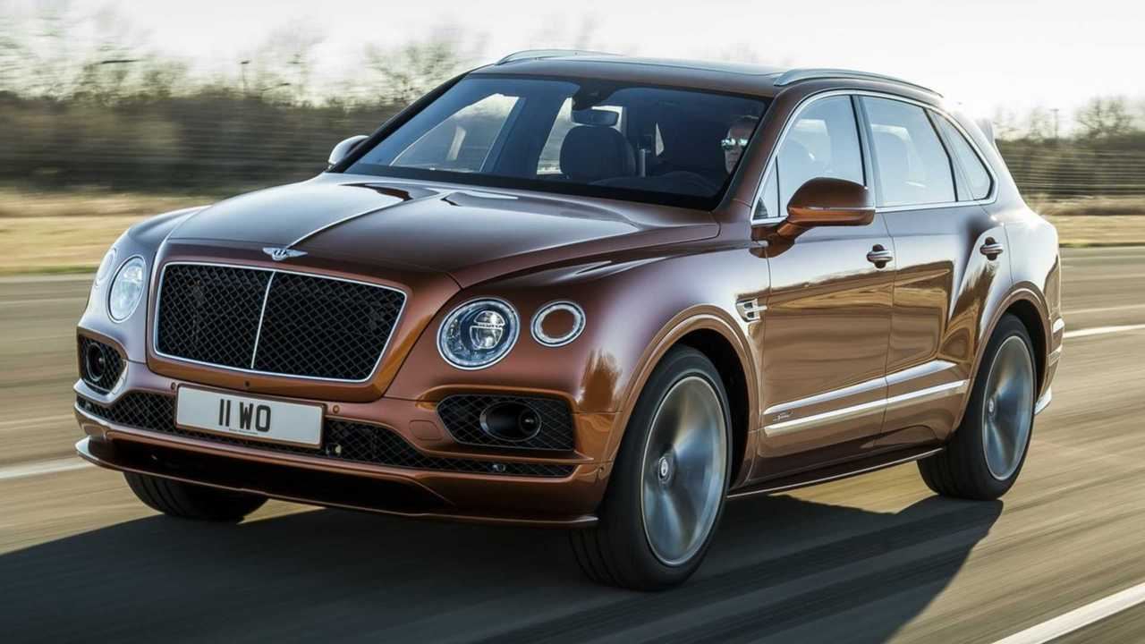 3.- Bentley Bentayga Speed 2019 - 626 CV
