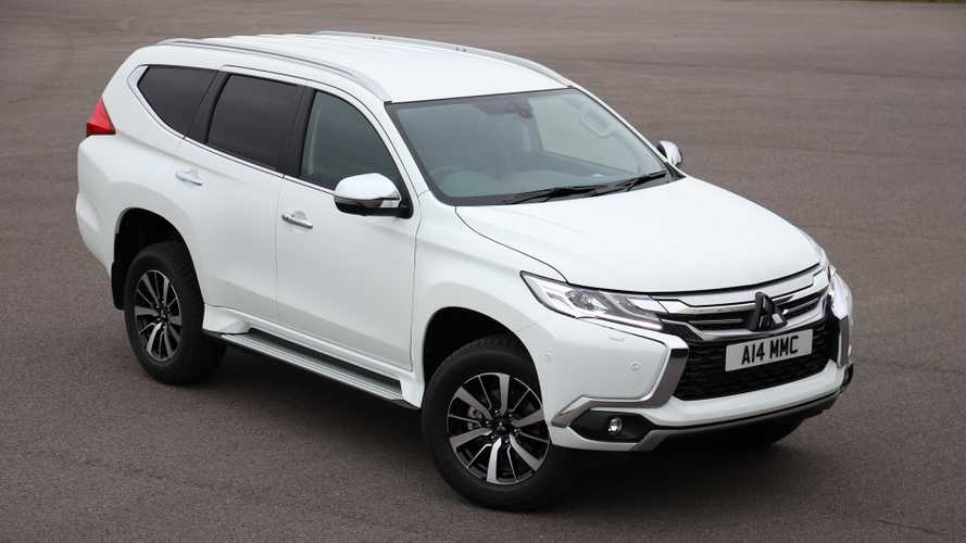 Mitsubishi launches Shogun Sport-based van