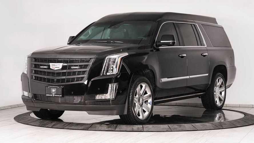 Cadillac Escalade, sul velluto anche fra i proiettili