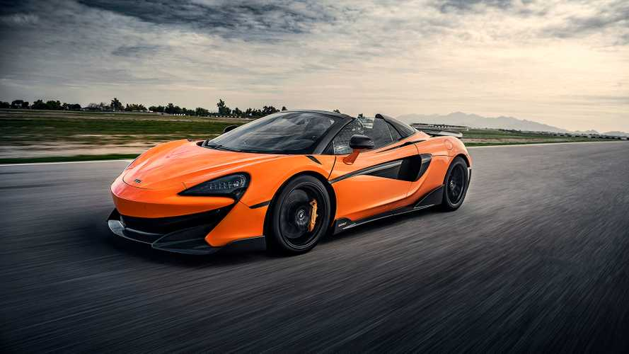 2019 McLaren 600LT Spider: First Drive