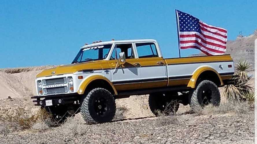 Rtech Fabrications Restores Retro Chevy Trucks Because 'Murica