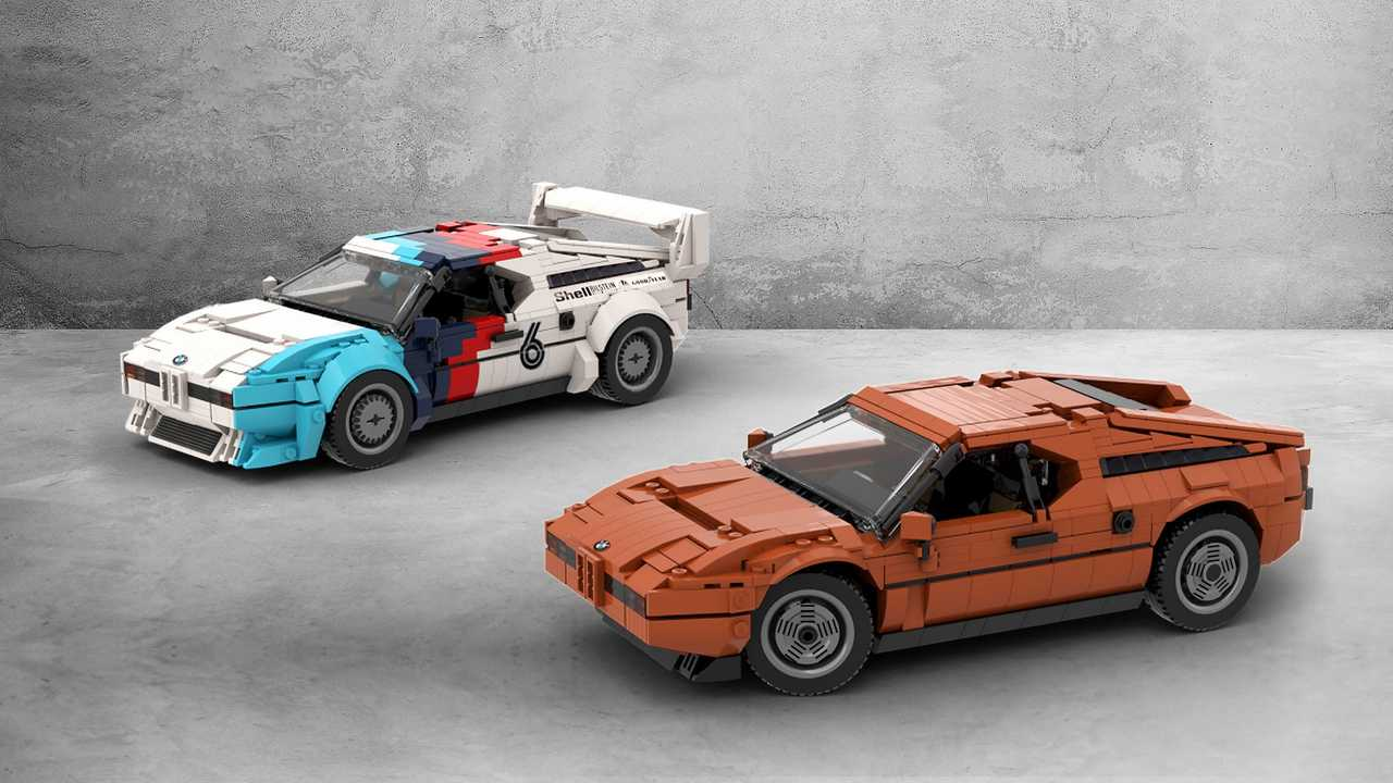 BMW M1 de Legos Ideas