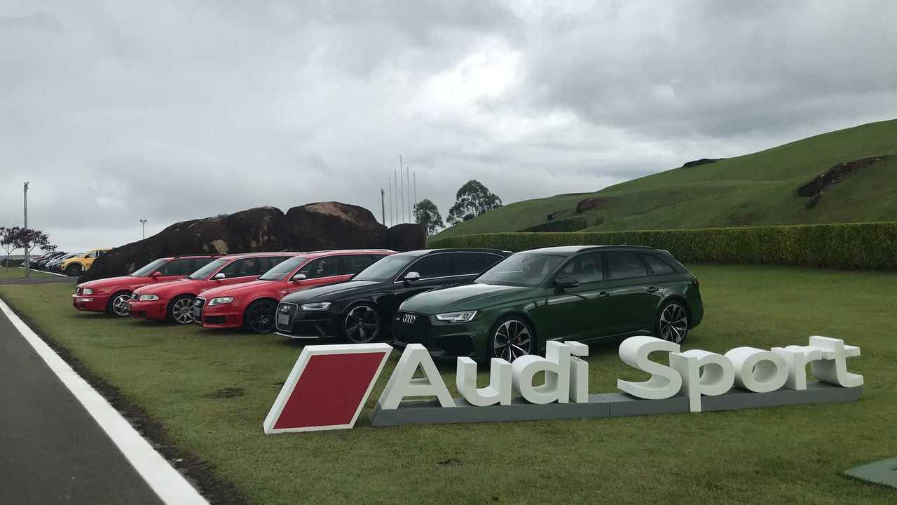 Linha Audi RS 4 (e RS 2)