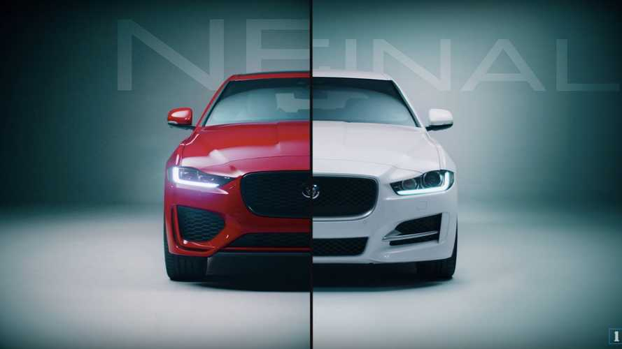 Jaguar shows what exactly has changed with the XE's facelift