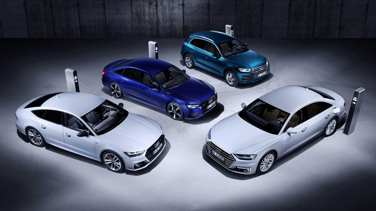 Audis neue Plug-in-Hybride