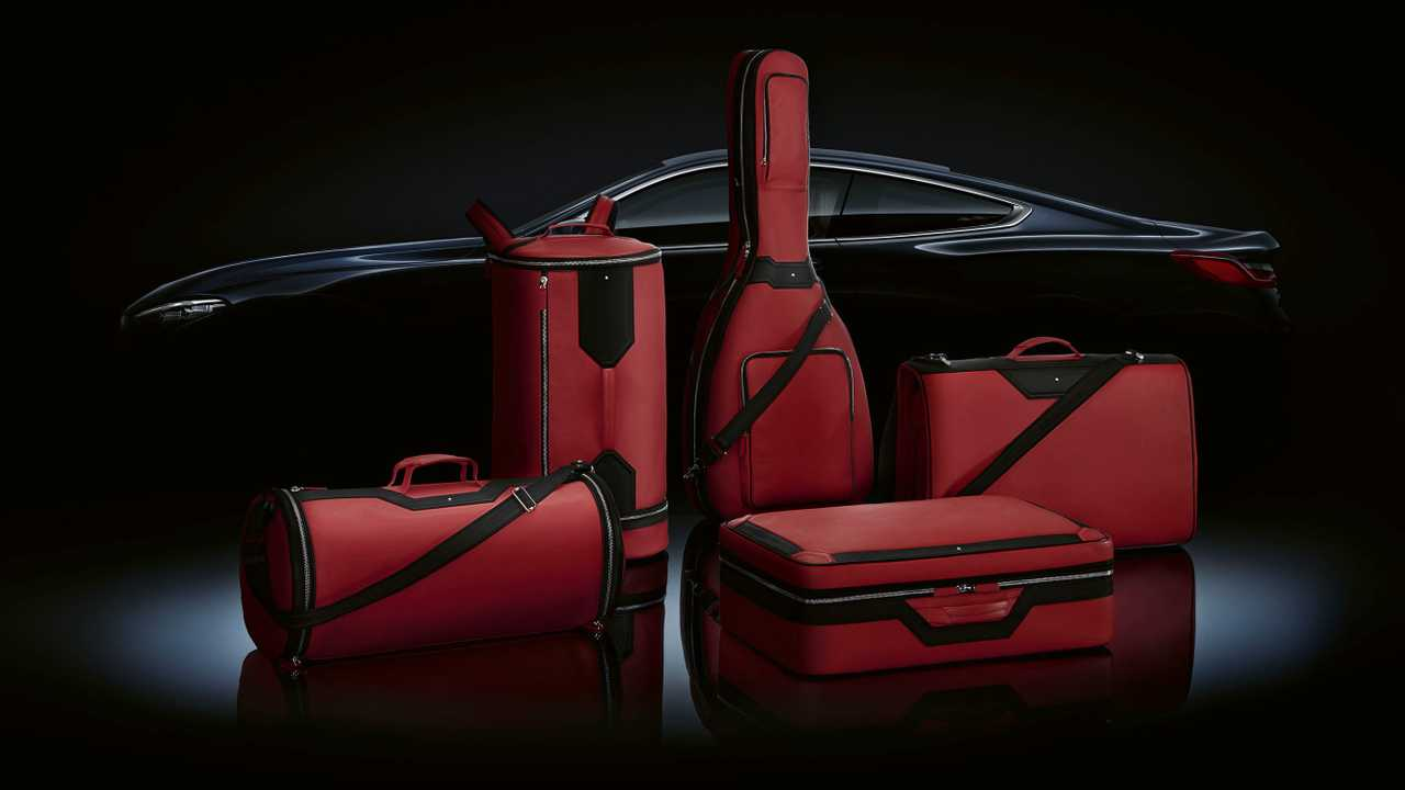 BMW x Montblanc Luggage