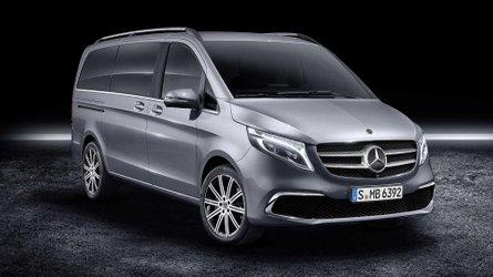Mercedes Classe V restyling, monovolume alla riscossa