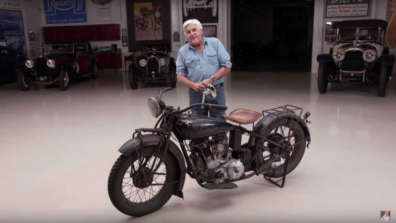 Jay Leno Indian Chief