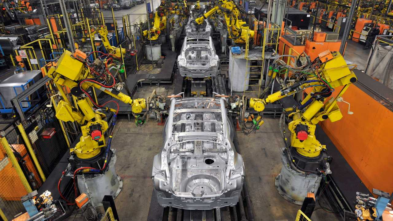 Nissan Sunderland plant production line