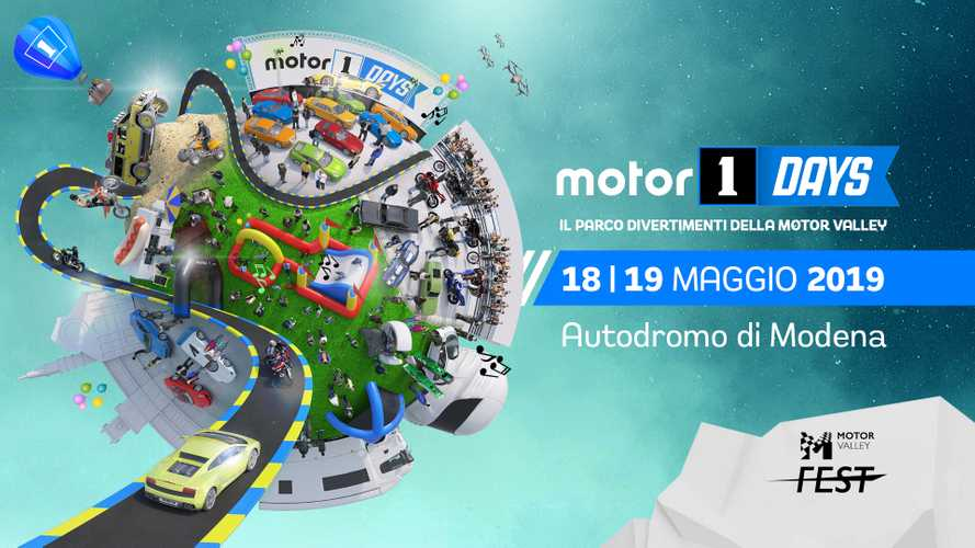 Motor1Days 2019 è il parco divertimenti del Motor Valley Fest!