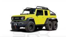 Suzuki Jimny 6x6 rendering
