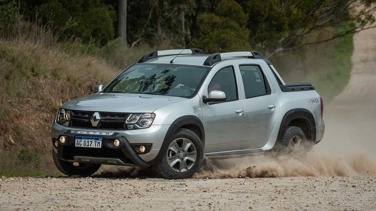 Dacia Duster pick-up (Renault Duster Oroch 4x4)