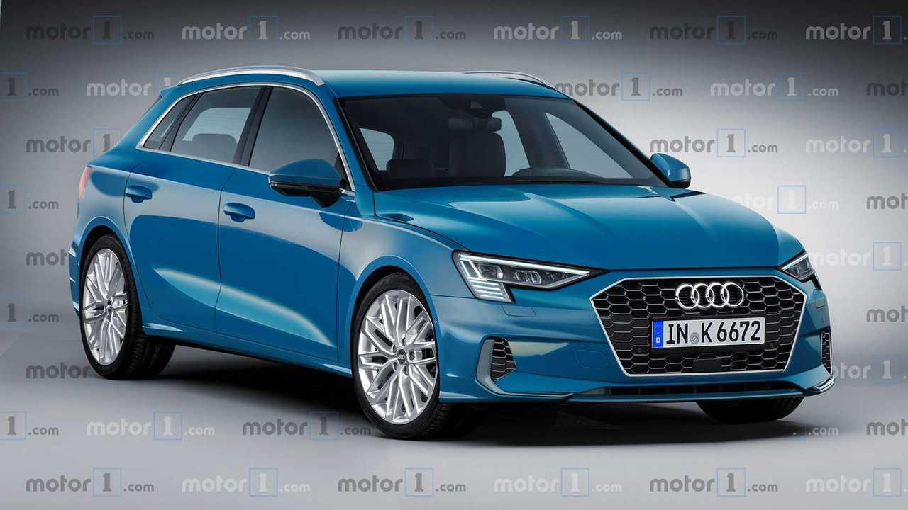 Projeção: Novo Audi A3 Sportback terá elementos do Q3