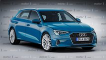 Illustrations - Audi A3 Sportback (2020)