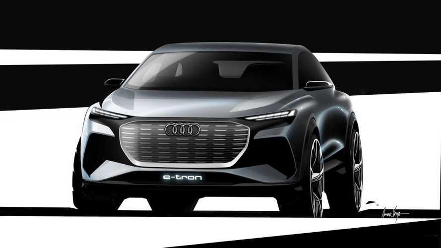 Élő közvetítés az Audi Q4 e-tron genfi bemutatójáról