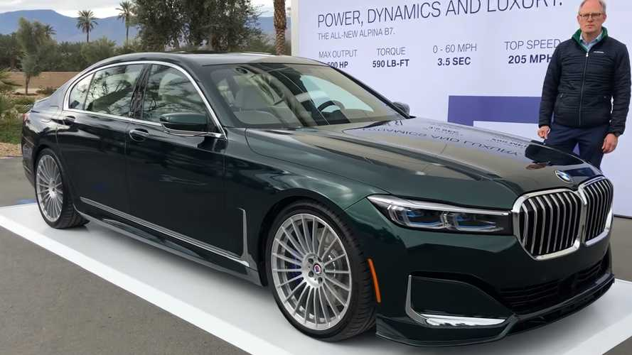 2020 Alpina B7 video details the fastest saloon in the world