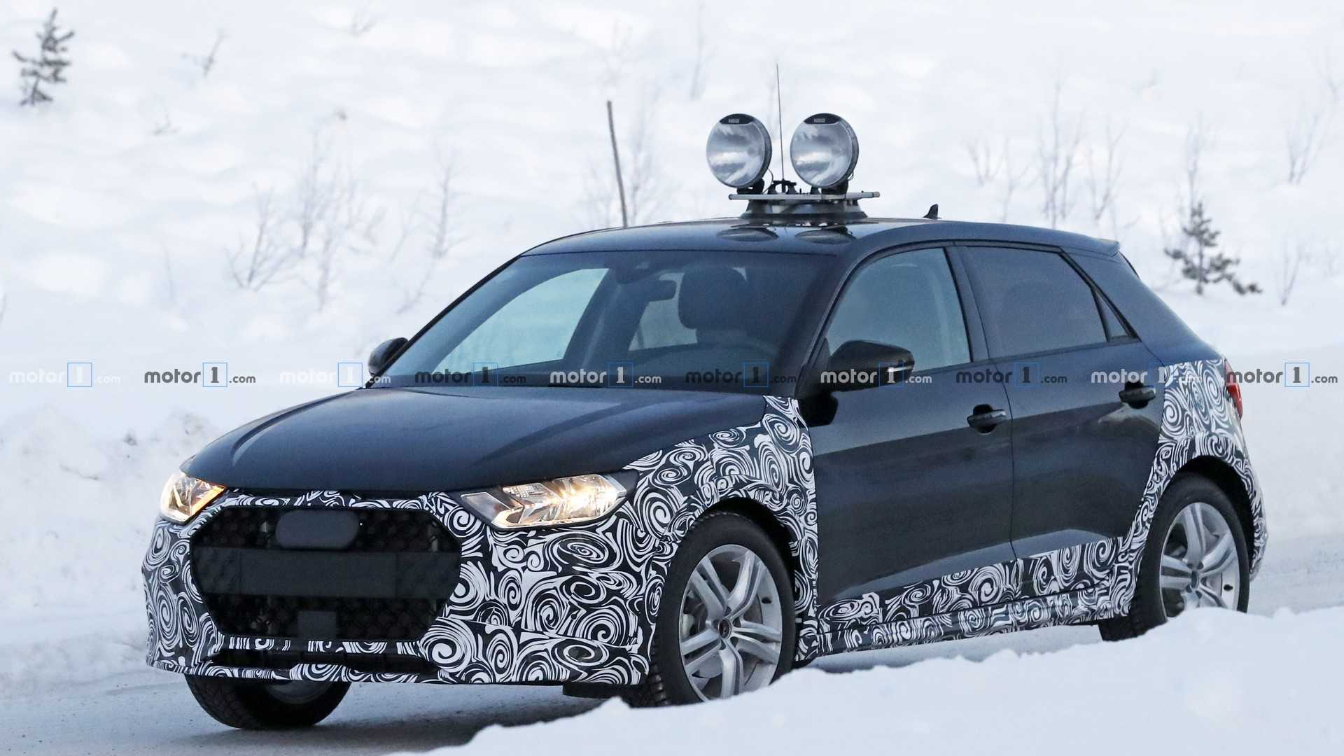 New Audi A1 Allroad Spied Getting Snowy With It Update