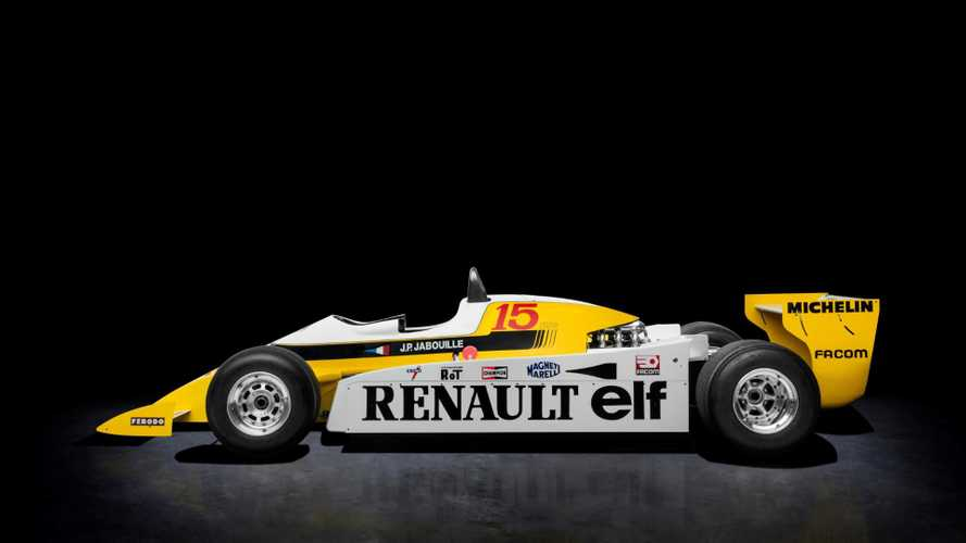 Renault F1 Car Crowns Turbocharged Rétromobile Display