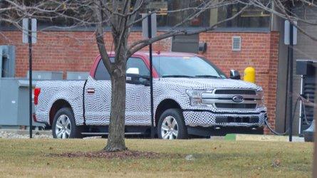 Des photos espion montrent un Ford F-150 électrique