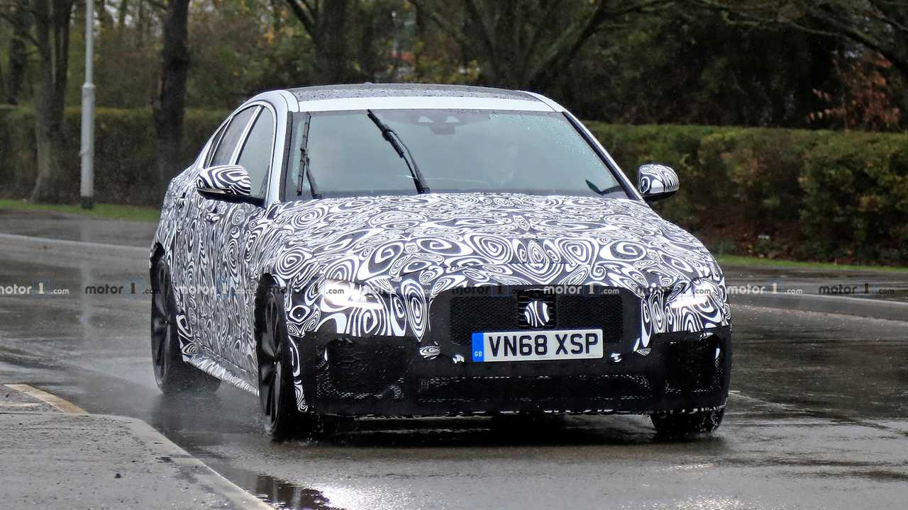 2020 Jaguar XE Spy Photo