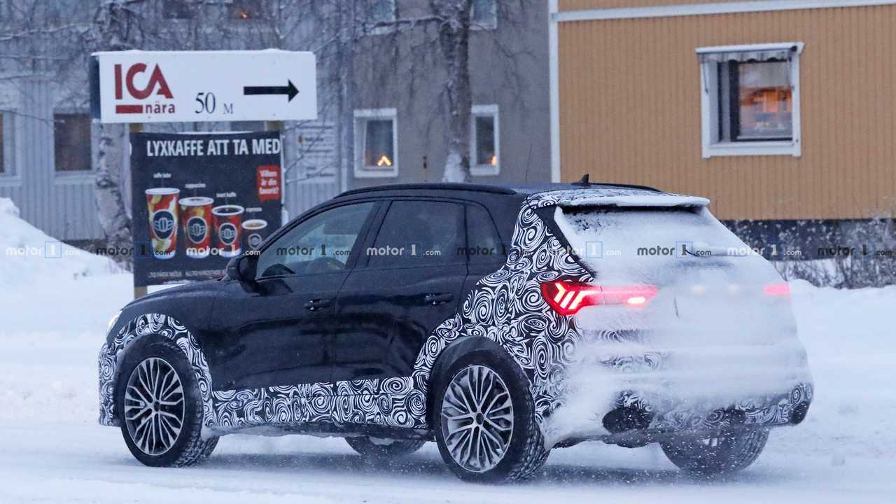 Photo espion Audi RS Q3 2020